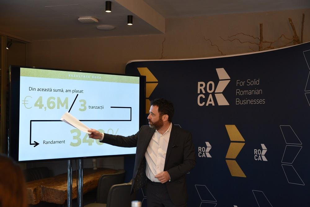 Prima etapă a dublării de capital ROCA Investments, dedicată acționarilor fondatori, în cuantumul a 6.3 milioane de Euro, a fost subscrisă 100%