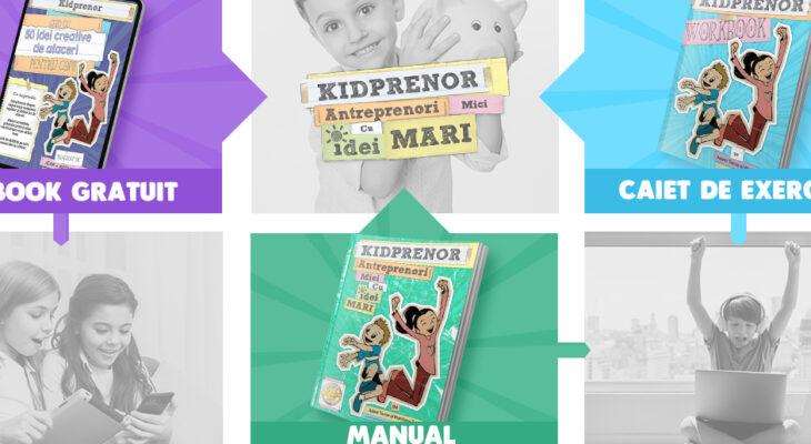 Programul Kidprenor a ajuns în România!